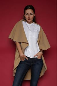 Picture of Poncho FH30095 color: beige