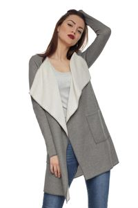 Picture of FH29712 cardigan color: light grey