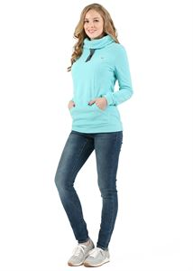 Picture of Riley Maternity And Nursing Sweatshirt color: menthol