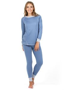 "Picture of Maternity and nursing Thermal underwear ""Slim"" color: denim"