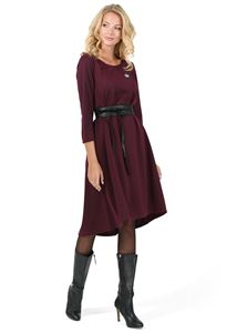 "Picture of ""Ivanna"" Maternity and nursing dress; color: Marsala"