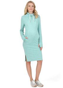 """Picture of Dress """"Lada"""" for nursing; color: menthol melange"""