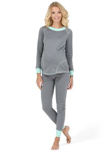 "Picture of Maternity and nursing Thermal underwear ""Slim"" color: gray"