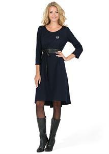 """Bild von Kleid """"Ivanna"""" für Schwangerschaft und Stillzeit; Farbe: dunkelblau"""