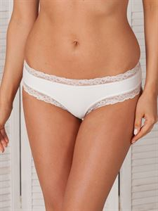 Picture of Panties Nikol microfiber / lace white art. 3818