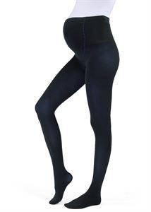 Obrázek Pantyhose pro těhotné ženy 300 DEN se speciální vložkou Podpora 7 PLEZIR; barva: modrá