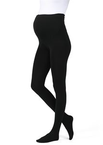 """Picture of Pantyhose warmed """"C-01"""" for pregnant women; black color"""
