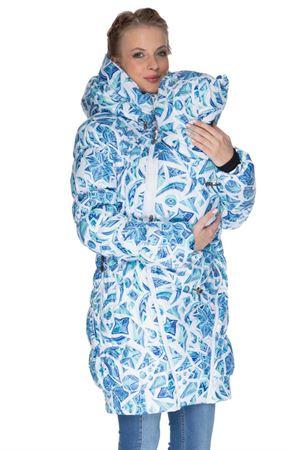 """Obrázek z Zimní bunda 3в1 """"Island"""" barva: kostky ledu na bílém"""