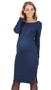 "Picture of ""Santa"" maternity dress; color: dark-blue"