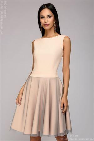 Obrázek z Dlouhé šaty DM00943PW s luky na zádech; barva: prášek