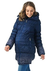 """Picture of Winter jacket 3in1 """"Iceland"""" color: knitted patterns"""