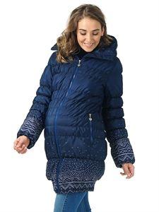 """Изображение Зимняя куртка 3в1 """"Исландия"""" вязаные узоры"""