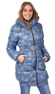 "Picture of Winter Jacket 2in1 ""Utah"" for pregnant women, normal; color: denim"