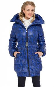 "Picture of Winter jacket  ""Iceland"" color: black-blue"