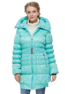 """Изображение Зимняя куртка """"Исландия"""" цвет: Аква"""