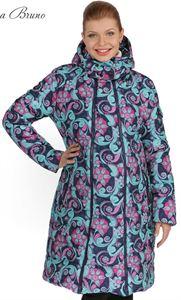 Изображение Куртка демисезон/зима 3в1  Laura Bruno №1 сине-розовая для беременных и слингоношения