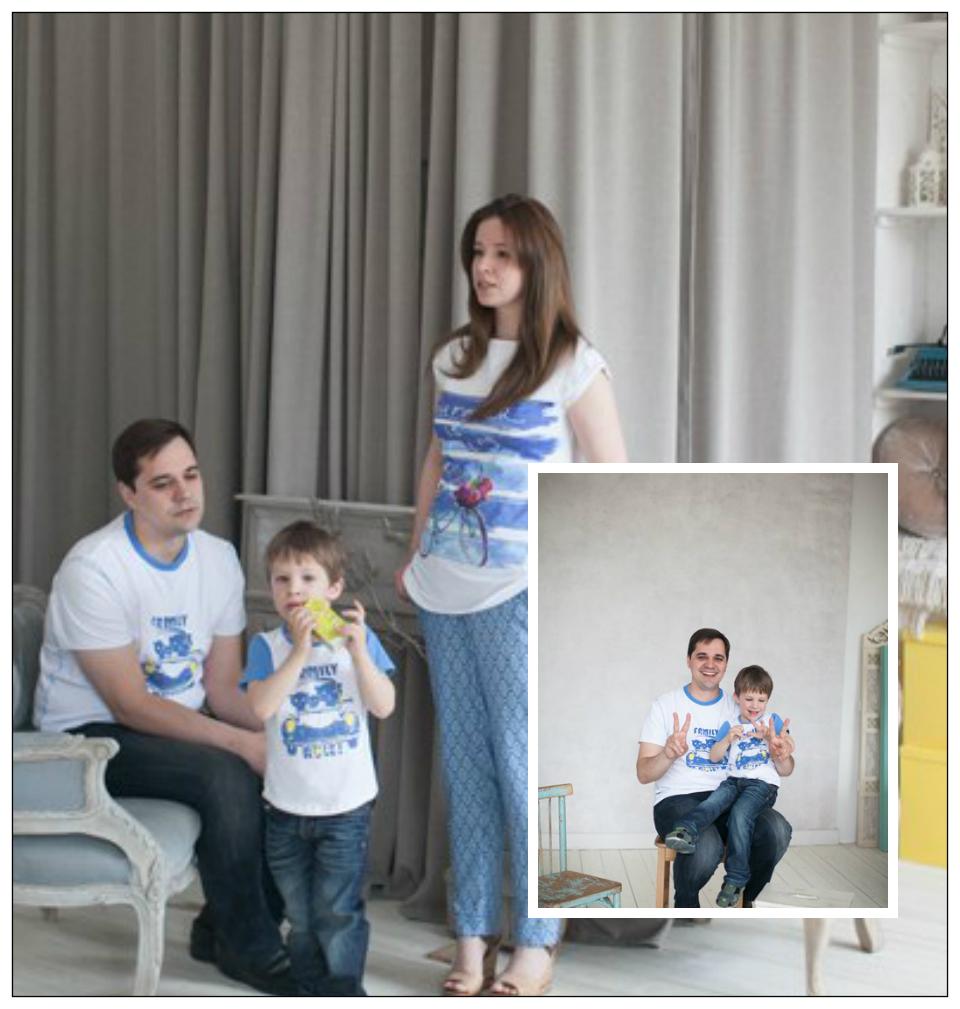"""Дарья (г. Екатеринбург): """"Какая же фотосессия без FamilyLook? Спасибо!"""""""
