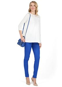 """Picture of """"Rakel"""" Maternity blue pants 2in1"""