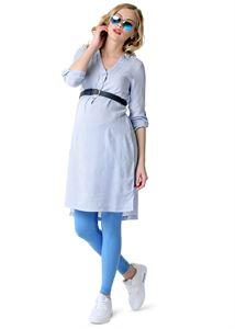 "Picture of Maternity leggings ""LD01"" color: denim"