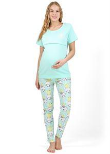 """Bild von Selbstgemachtes """"Willy"""" -Kostüm für schwangere und stillende Frauen; Farbe: Menthol"""