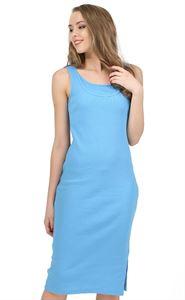 """Obrázek Šaty """"Casarse""""  pro těhotné a kojící; barva: modrá"""