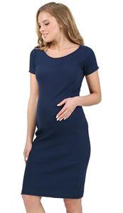 """Obrázek Šaty """"Chloe"""" pro těhotné ženy; barva: tmavě modrá"""