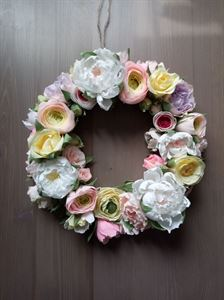 "Picture of Decorative wreath ""spring flowers"""