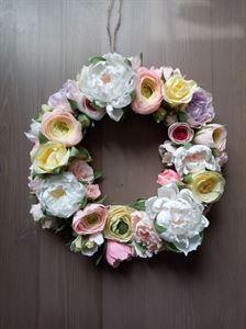 """Bild von Dekorativer Kranz """"Frühlingsblumen"""""""