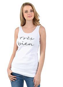 """Obrázek Tričko """"Nancy"""" pro těhotné; barva: bílý tisk"""