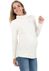 """Bild von """"Pantera"""" Umstandssweatshirt/Stillsweatshirt Fleece milchen"""