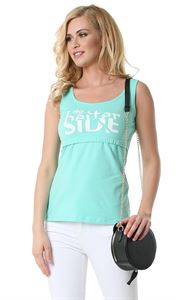 Picture of  Alda Nursing Tank Top; color: menthol