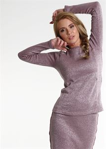 """Picture of Maternity and nursing  Set """"Darlene""""; color: berry"""