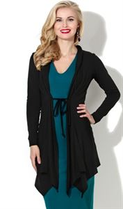 Picture of Cardigan DSK-02-black with  ties