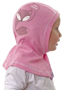 "Picture of Hat-helmet ""Luntik"" pink / chanterelle"