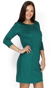 """Picture of """"Betty"""" nursing green dress"""