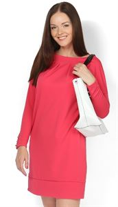 """Picture of """"Vega"""" Maternity red dress"""
