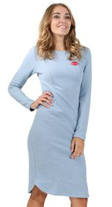 "Picture of Dress ""Granda"" for nursing; color: denim blend"