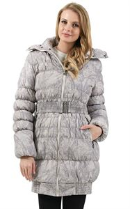 "Picture of Winter jacket""Iceland"" color: beige patterns"