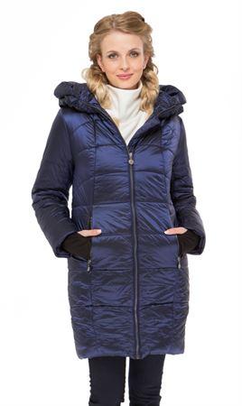 """Picture of Winter jacket  """"Havana"""" blue"""