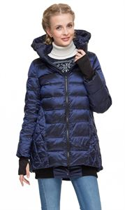 "Picture of Winter down jacket ""Tanzania""; color: blue"
