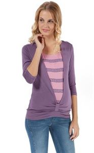 Picture of Maternity and nursing Long sleeve Assol violet