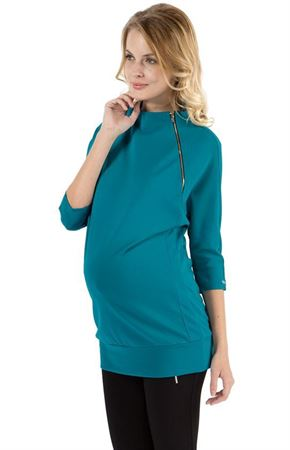"Picture of Jumper ""Zemfira"" emerald for maternity"