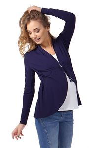 Picture of Maternity cardigan KB02 ; color: dark blue