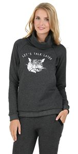 """Picture of """"John"""" sweatshirt for nursing; color: anthracite"""