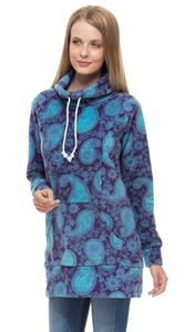 "Picture of Fleece Jumper ""Amberley"" Paisley maternity and nursing"