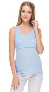 Picture of MH07 blue Nursing Tank Top