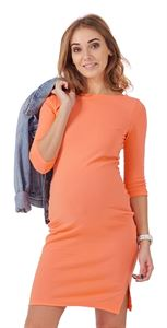 "Picture of ""Marissa""  maternity dress; color: salmon"