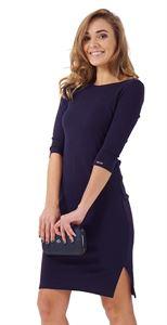 "Picture of ""Marissa""  maternity dress; colour: dark blue"