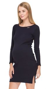 """Picture of Dress """"Santa"""" Navy blue maternity"""