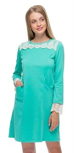 """Picture of """"Sonia"""" Maternity menthol dress"""